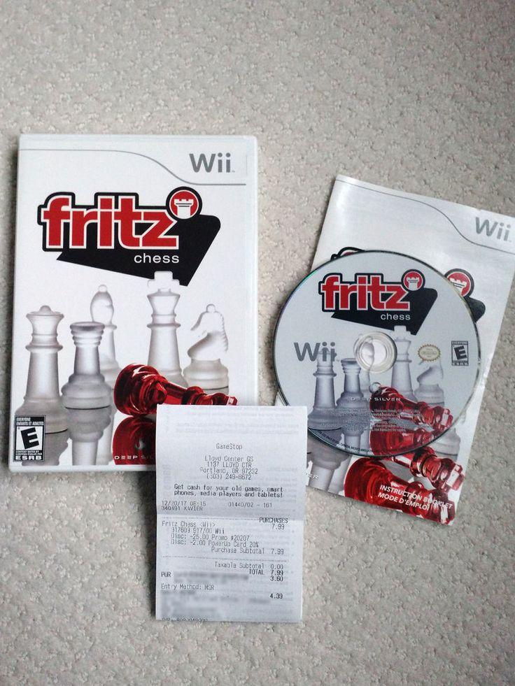 GameStop find - Fritz Chess Wii (CIB)