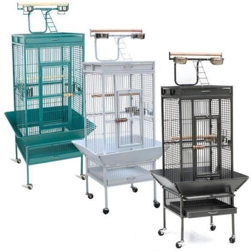 Cages 46289: 61 Large Bird Cage Play Top Parrot Finch Cage Macaw Cockatiel Cockatoo Pet House -> BUY IT NOW ONLY: $104.98 on eBay!