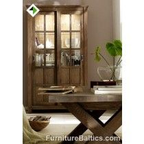 Wholesale Furniture California CALIFORNIA two sliding doors vitrine. Height 1 m 80 cm1350 x 750 x H550 http://furniturebaltics.com/wholesale-furniture-collections/furniture-manufacturers-california-range/wholesale-furniture-116.html Provence ( French style ) Solid North European wood Assembled, no hassle Hardened glass High-quality materials and finish Natural Wild Oak Soft-close, © International Furniture Wholesalers - furniturebaltics.com
