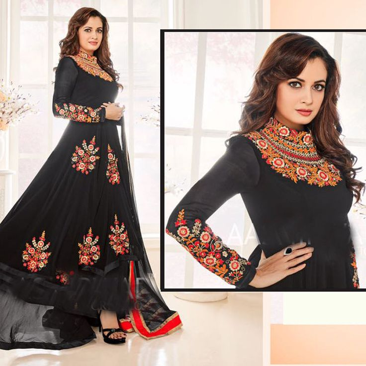 Pakistani Designer Salwar kameez Bollywood Indian Anarkali Embroidery Party Suit #Shoppingover #SalwarKameez