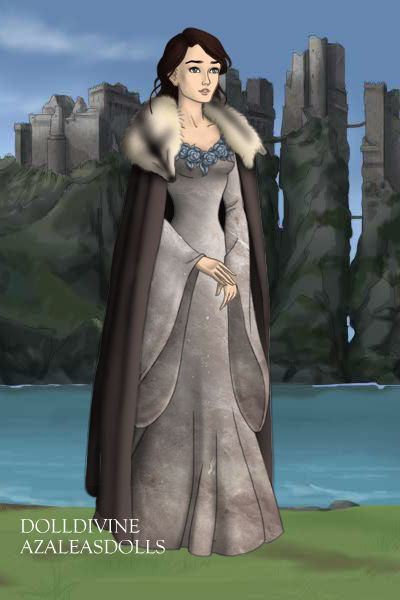 Lyana Stark Cape from the Game Of Thrones on Etsy, $130.00