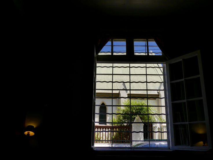 Light entering the room.