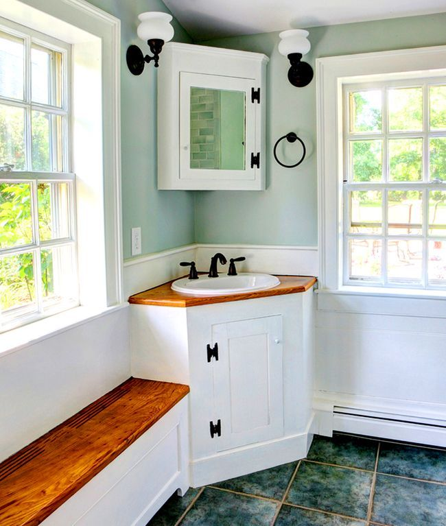 Bathroom cabinets how to combine practicality and aesthetics photo 12