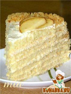 """Торт """"Яблочный мусс""""  (Apfelmusstorte)"""