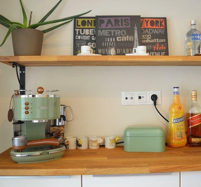 IKEA Mutfak Dolabı, Mutfak Dekorasyonu, Mutfak Açık Raf, Kitchen Decoration