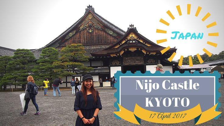 Visiting Nijo Castle Kyoto   Japan Travel Vlog Series