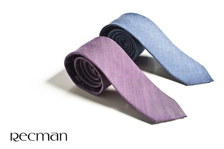 Mężczyzna i krawat to zawsze eleganckie połączenie. Znajdź swoje. Czekamy w salonach i na bit.ly/Recman_Krawaty