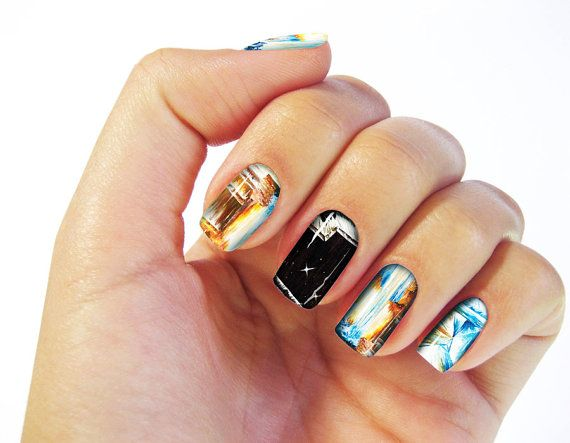 Birth of The Universe Nail Wraps  Fine Art Design Set by CRCases