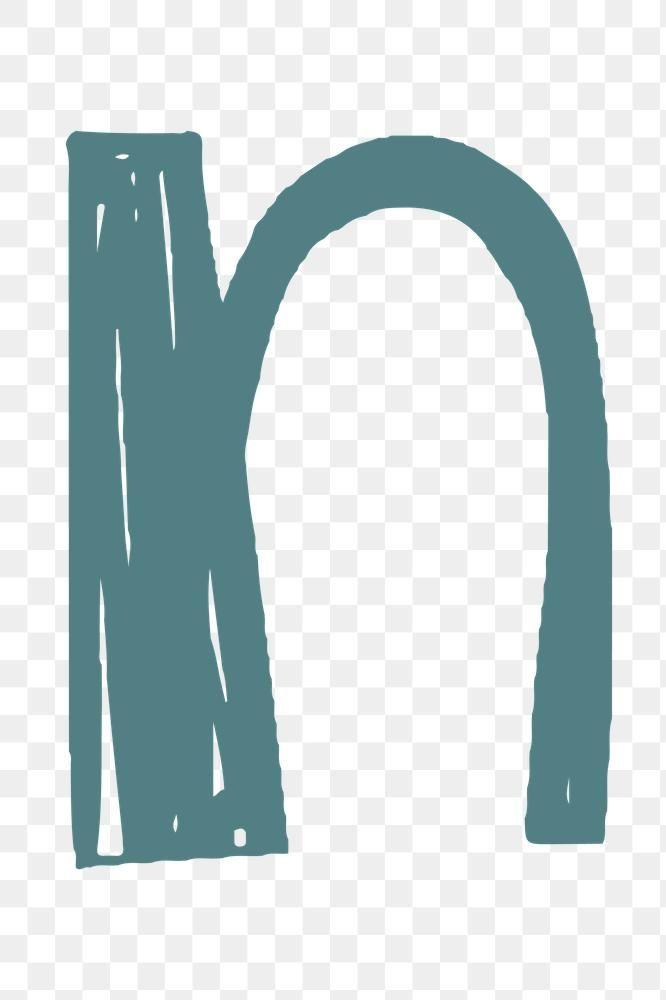 Letter N Png Doodle Font Alphabet Typography Free Image By Rawpixel Com Aum Doodle Fonts Fonts Alphabet Aesthetic Letters