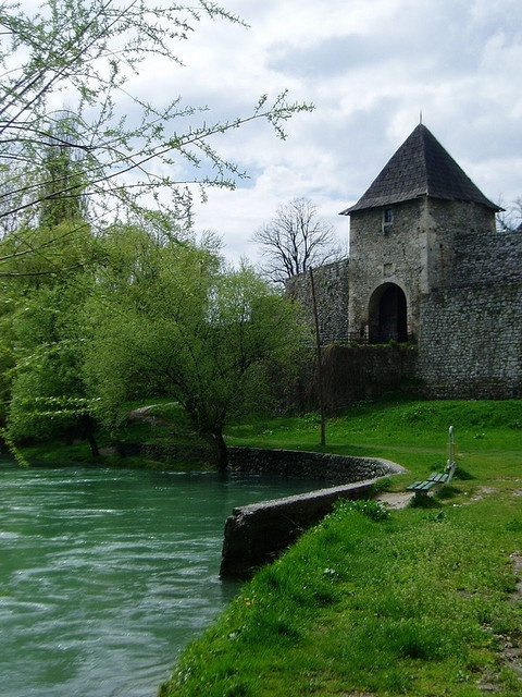 Castle in Banja Luka, Bosnia and Herzegovina. This medieval castle is one of Banja Luka's main attractions. Located on the left bank of the Vrbas river, it gives a specific charm to the city. During the summer, music concerts take place in the fortress.