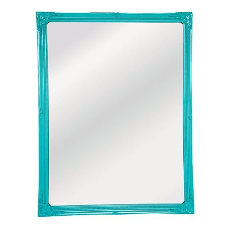 Neon Pop Ornate Mirror Teal 87cm x 67cm