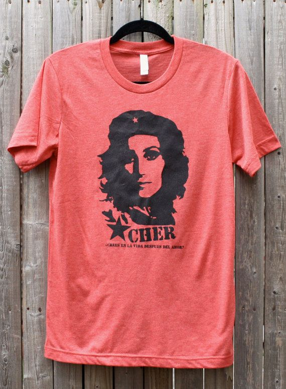 Che / Cher Guevara--Do You Believe In Life After Love on Etsy, $23.00