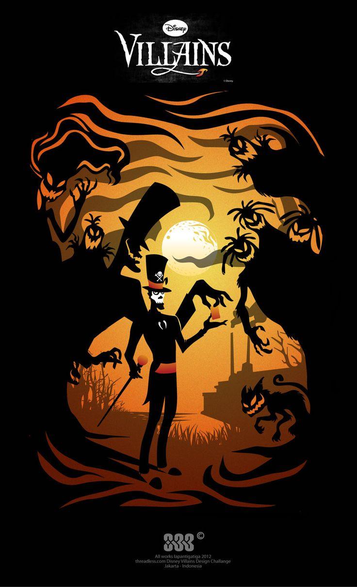 dead card shadow (dr. facilier) by lapantigatiga.deviantart.com on @deviantART