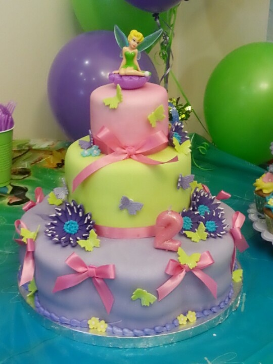 My wife's tinker bell cake.