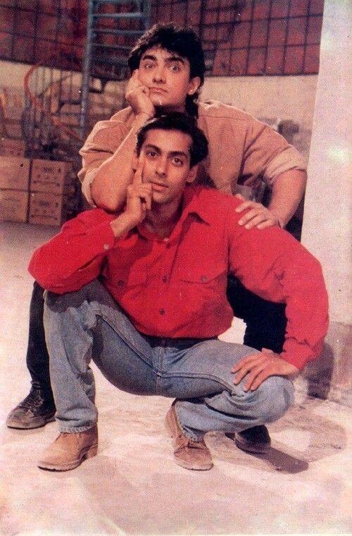 Aamir Khan & Salman Khan / Andaz Apna Apna