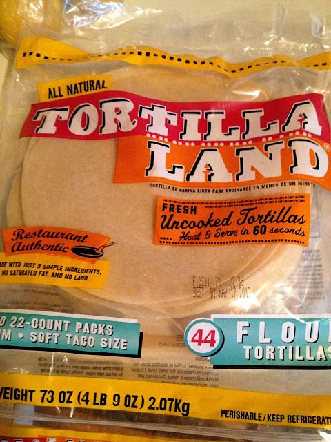 HOW did I not know about this???  These uncooked tortillas are delicious, the texture and freshness is amazing.  Perfect for wraps- and Costco carries them!