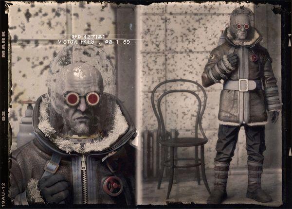 MR. FREEZE - Gothams villains reimagined as 1920s mugshots   Crave - CNET