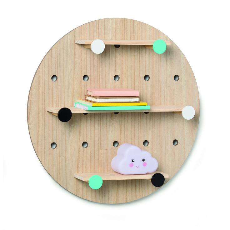Round Peg Board Shelf | Kmart