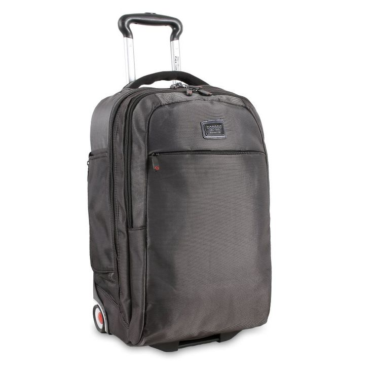 J World Bay Business Carry-on Rolling Backpack - MSR-22 BLACK