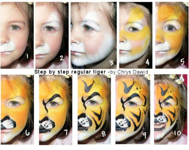 Tiger ~ Remember to use two yellows. It makes such a difference.