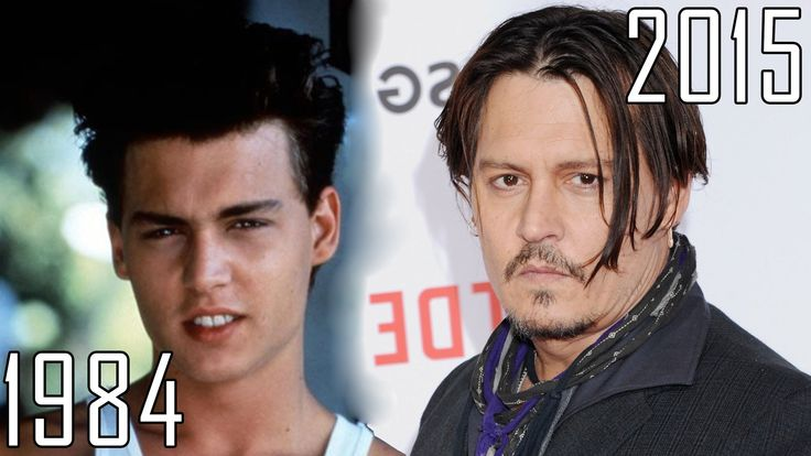 Johnny Depp (1984-2015) all movies list from 1984! How much has changed?...