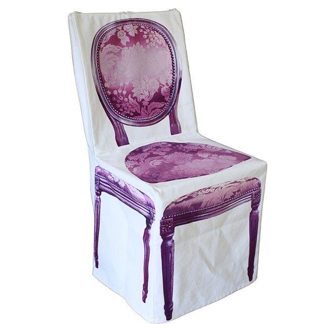 Trompe Loeil Chair Cover