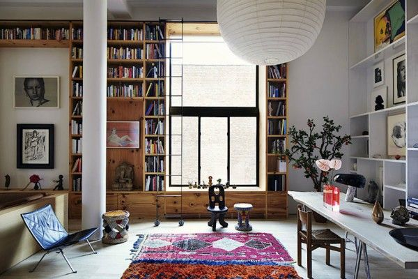 Inez and Vinoodh Bohemian New York Loft