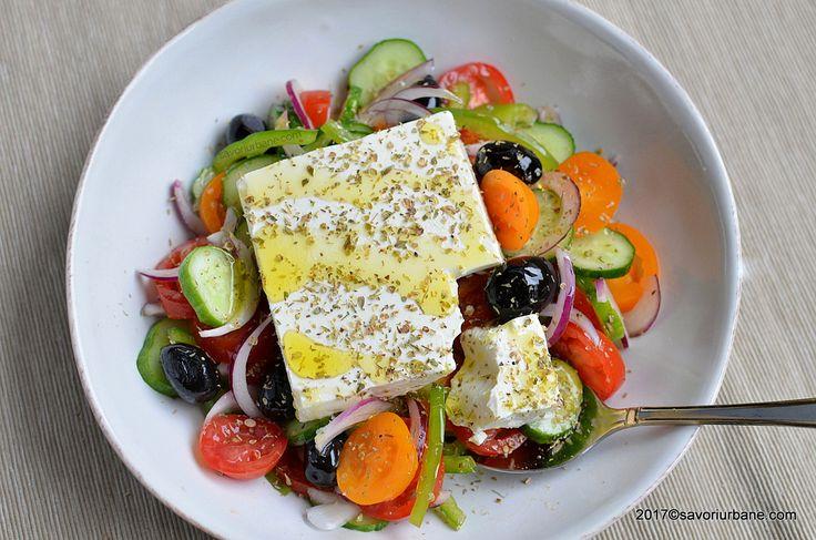 reteta originala salata greceasca