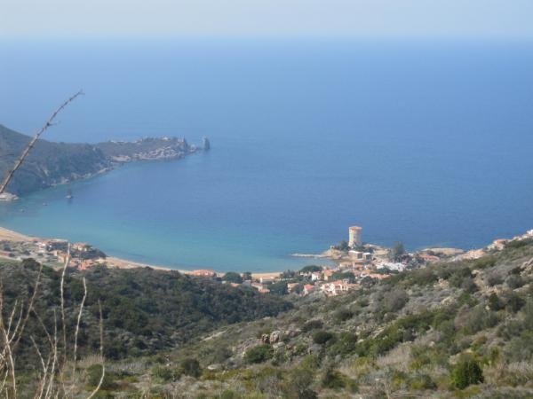 The wonderful bay of Campese at Giglio Island, Costa d'Argento, Maremma, Tuscany, Italy