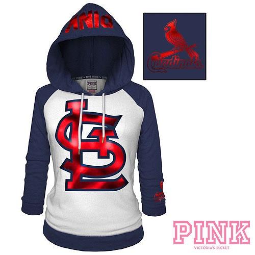 St. Louis Cardinals Victoria's Secret PINK® Raglan Pullover Hoodie