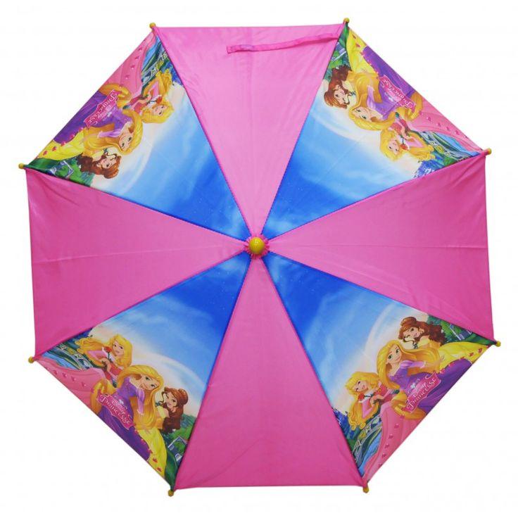Princesses Disney parapluie Belle Aurore et Raiponce