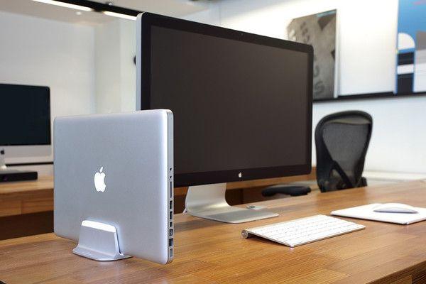 AluBase Support vertical MacBook|AluBase MacBook Stand | Opuszone.com