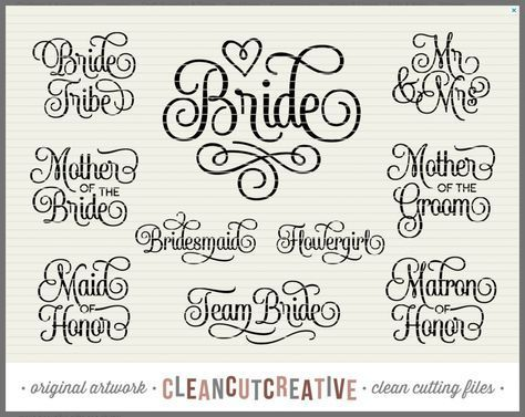 Download Free Bloom SVG for Silhouette or Cricut | Cricut wedding ...