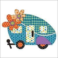Quilting: Applique Add On's - Road Trip