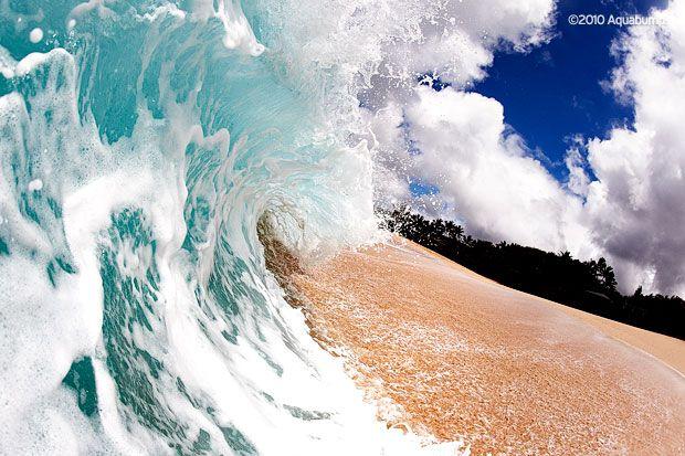 Aqua Bumps, an exhibition of beach photography grandlivinghomewares.com