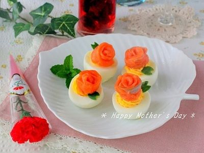 春分の日は卵の日可愛いお花モチーフの卵レシピ4選
