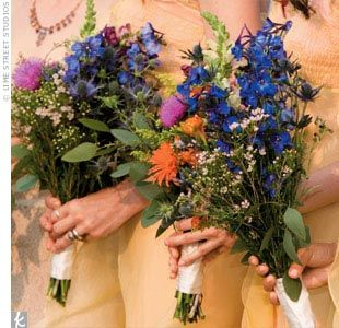 Inspiration for a wildflower bouquet « Weddingbee Boards
