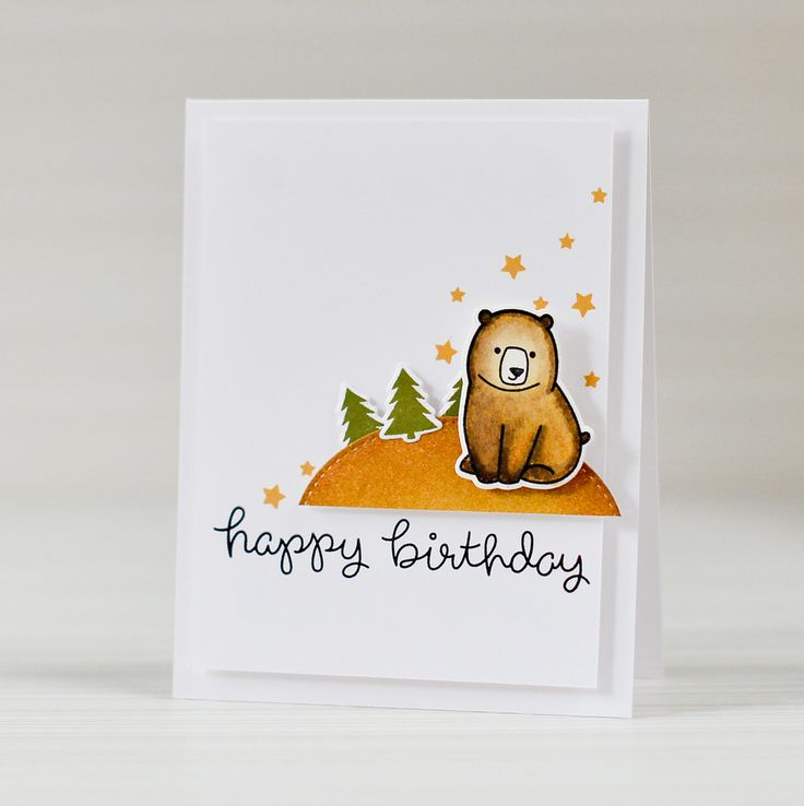 Stamps For Card Making Ideas Part - 32: Lawn Fawn - Love You Su0027more, Party Animal, Stitched Circles _ Super.  Masculine Birthday CardsMasculine ...