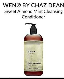 WEN Chaz Dean Sweet Almond Mint Cleansing Conditioner 16 oz with - See more at: http://supremehealthydiets.com/category/beauty/hair-care/conditioners/page/2/#sthash.zbvR2LFS.dpuf