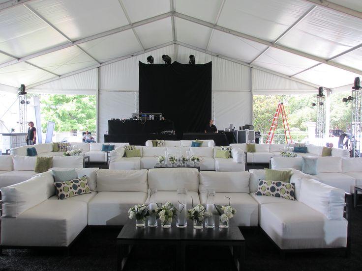 Create VIP seating   Lounge furniture   Staging   Lighting   Draping - fresh blueprint furniture rental
