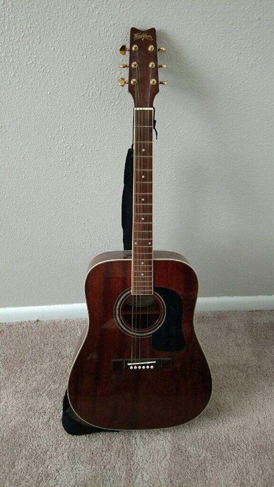 Washburn Acoustic Guitar #Washburn