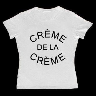 Creme De La Creme Women White T-shirt