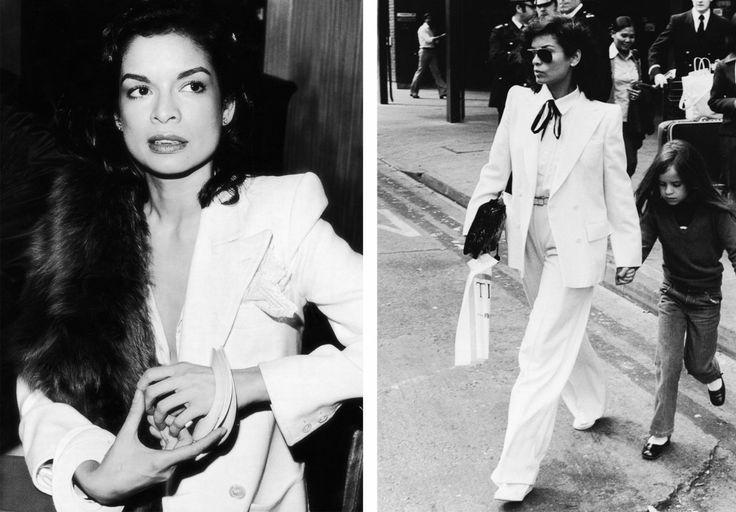 Bianca Jagger | suit | Clothes | Pinterest