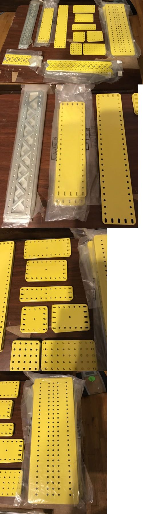 Pre-1980 724: Meccano Custom Plates Extension Set, 184 Parts, Original And Brand New -> BUY IT NOW ONLY: $349.95 on eBay!