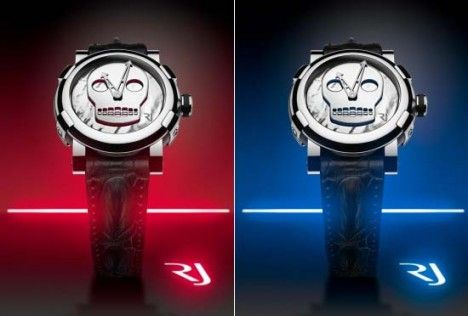 romain jeromes art dna collection skull watches
