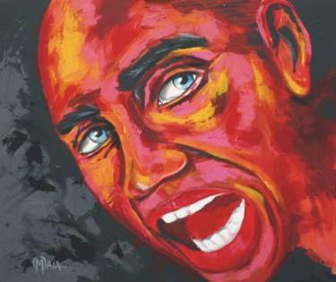 "Saatchi Art Artist Orlando Maia; Painting, ""Shout to the world"" #art"