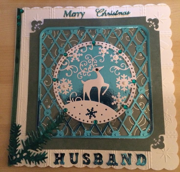 Card Making Ideas Using Tattered Lace Dies Part - 31: This Christmas Card Was Made Using Tonic And Tattered Lace Dies.