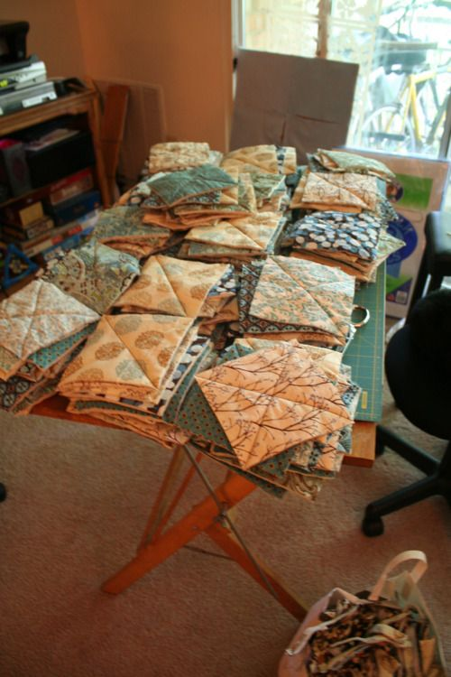 another rag quilt tutorial