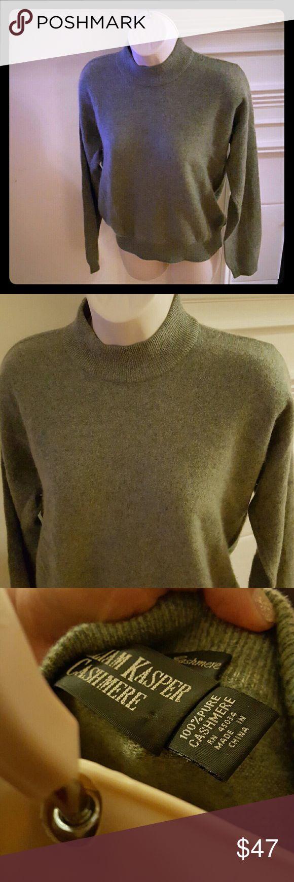 Beautiful Cashmere Sweater Like new. Beautiful 100 percent cashmere sweater So soft . William Kasper Cashmere  Sweaters