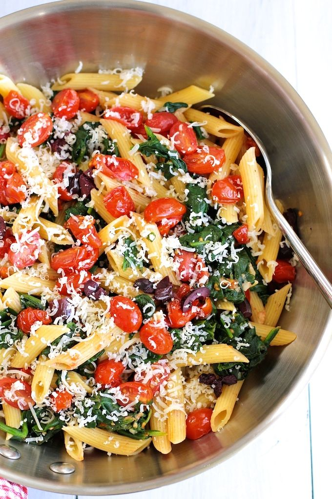 ... cherry tomatoes and spinach | Recipe | Spinach, Cherry tomatoes and